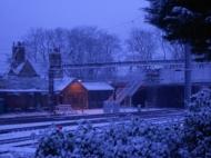 The railway tracks