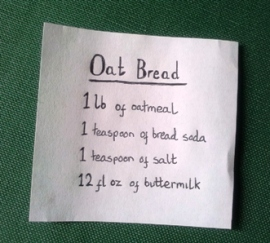 Oat bread recipe