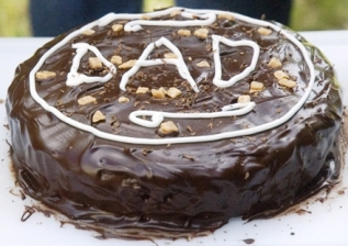 chocolate fudge sponge cake
