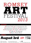 Romsey Art Festival poster